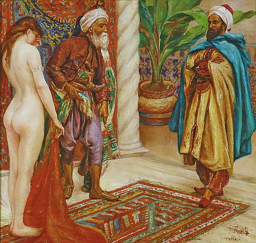 Ottoman white slaves gray anal gangbang