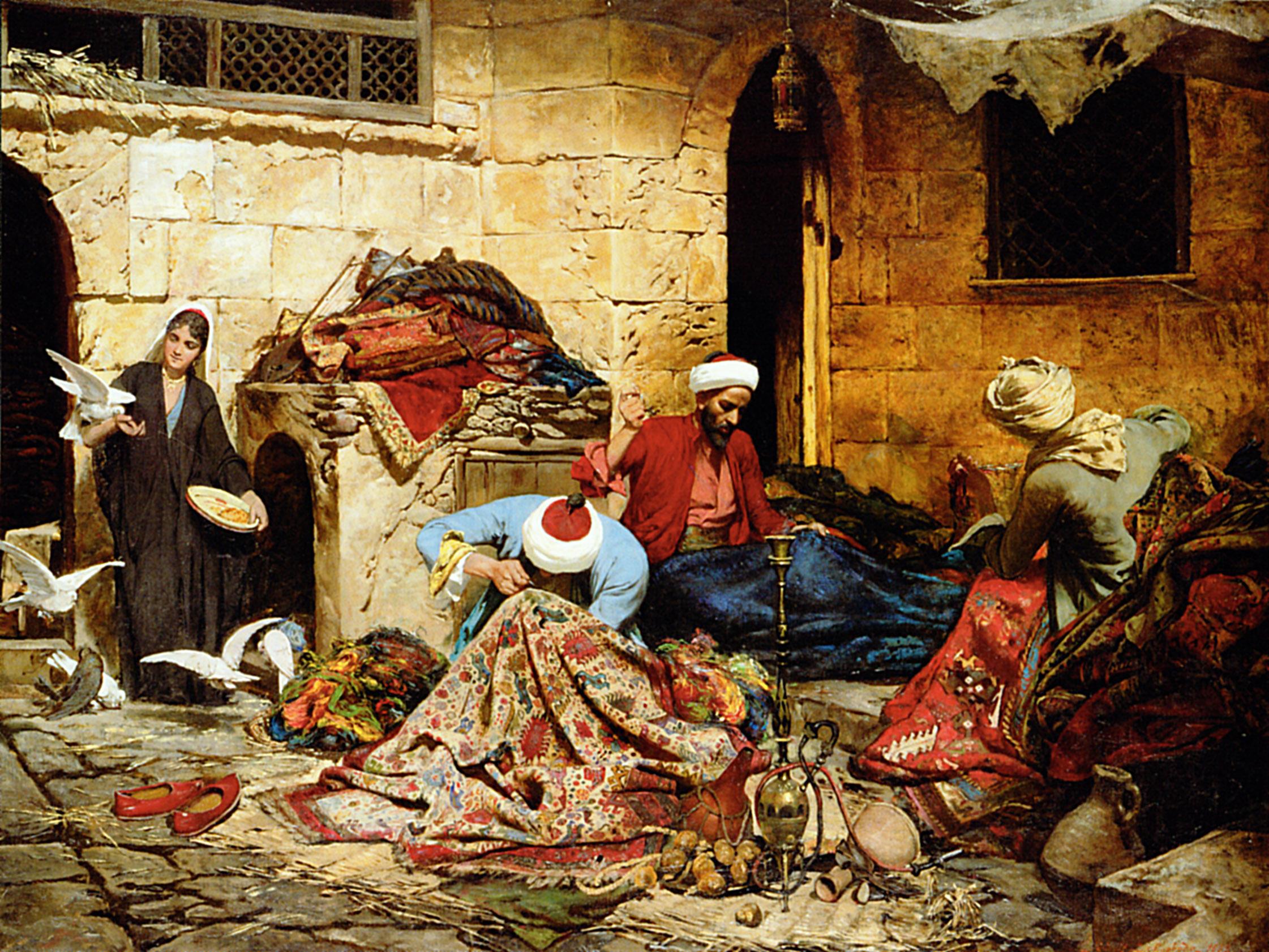 The Carpet Seller Halı Onok Art