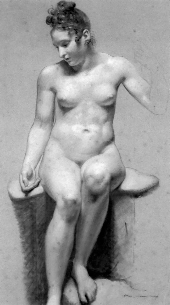 For that 18th century women portraits nude
