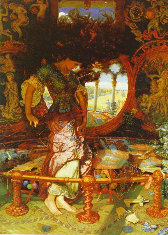 The Lady of Shalott.