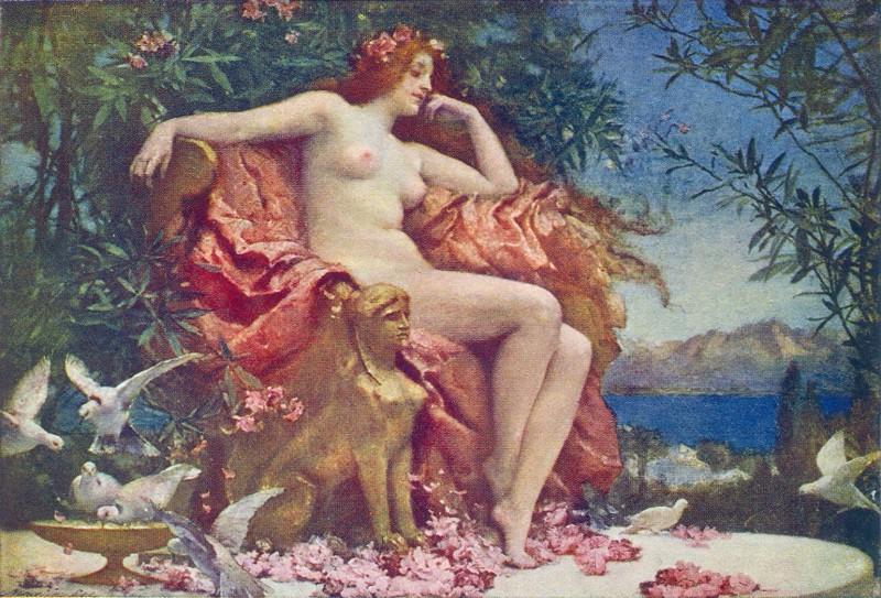 Rae,_Henrietta_-_Venus_Enthroned_-_1905